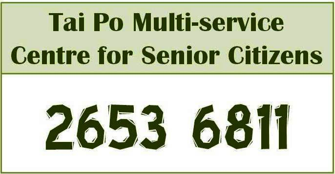 Finding social services for senior citizen in Tai Po District?